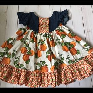 Eleanor Rose Pumpkin Patch Dress